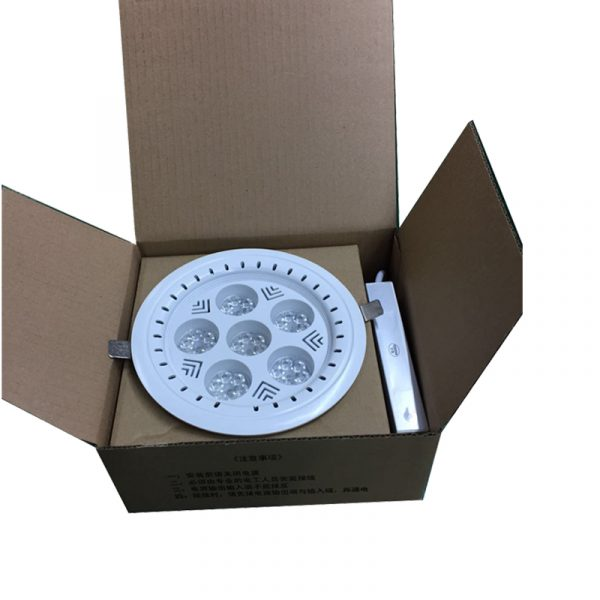 AW-DL0136 recessed led down light packing