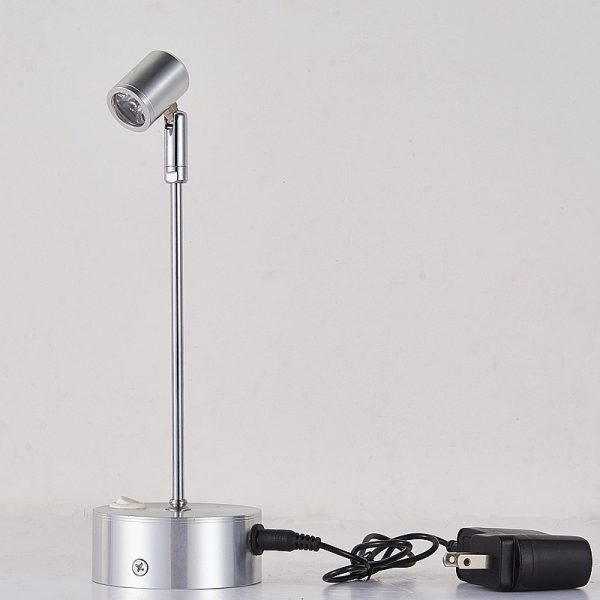 rechargeable led showcase light AW-SLB1001 (10)