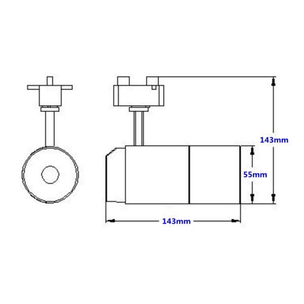 AW-TL0215 Ttarack spot light (4)