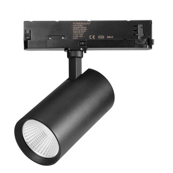 PS-TL30 LED track spot light black 3