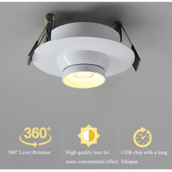 AW-DL0102 Gimbal led down light 2