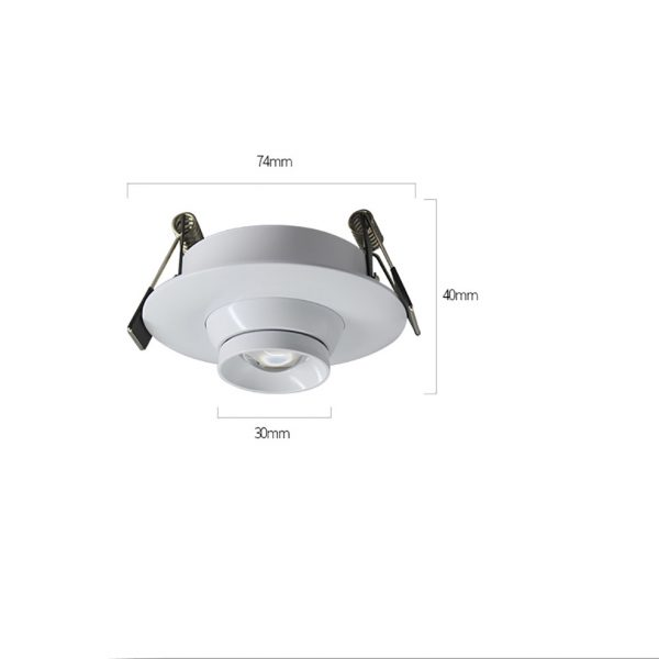 AW-DL0102 Gimbal led down light 3 size