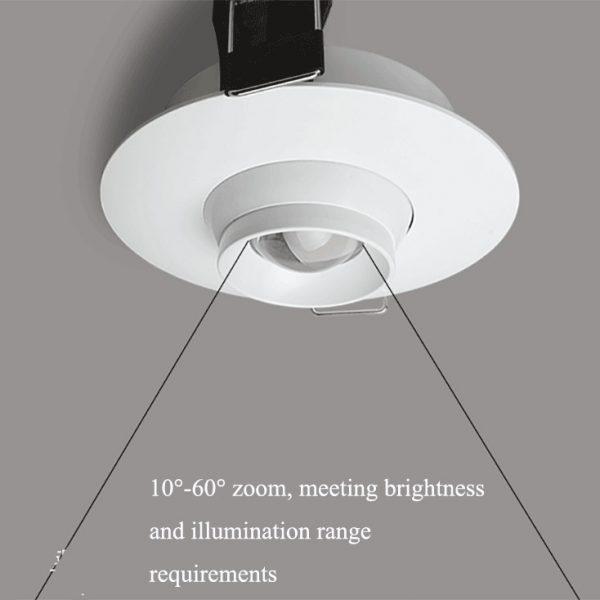 AW-DL0102 Gimbal led down light 4