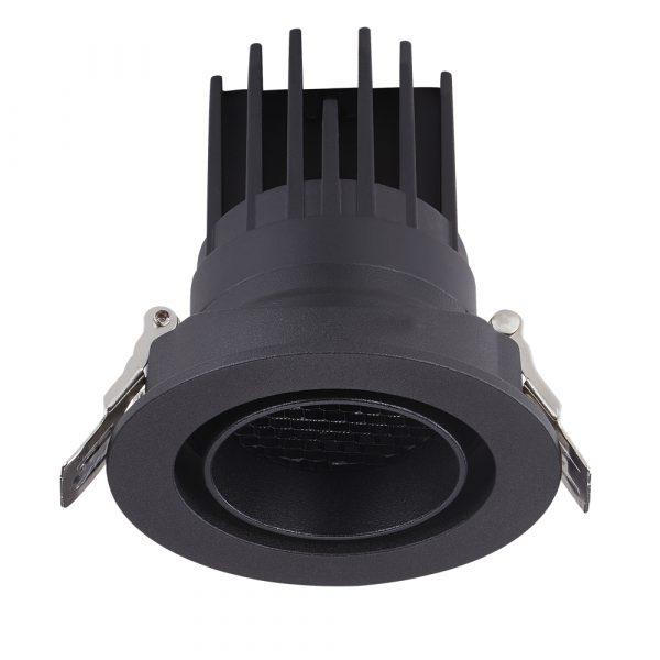 AW-DL5208 8W 12W 152 cob led down lights black