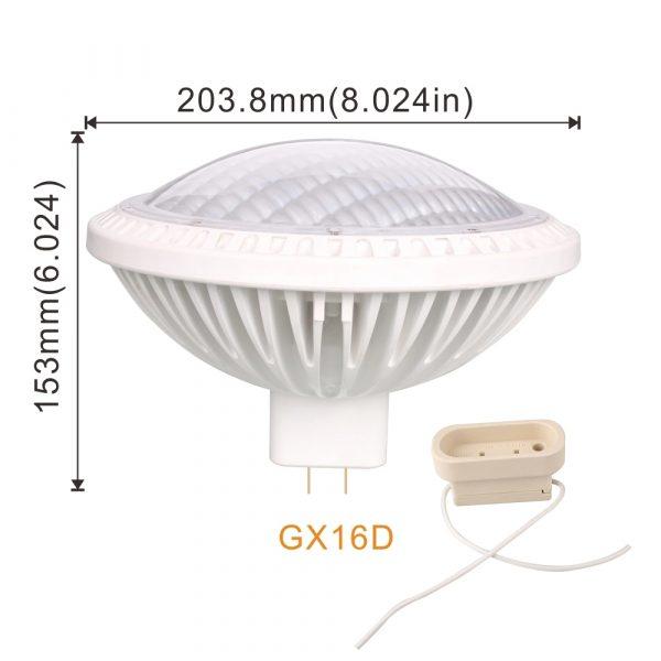 AW-PA6445 LED PAR64 bulbs Awelled 5