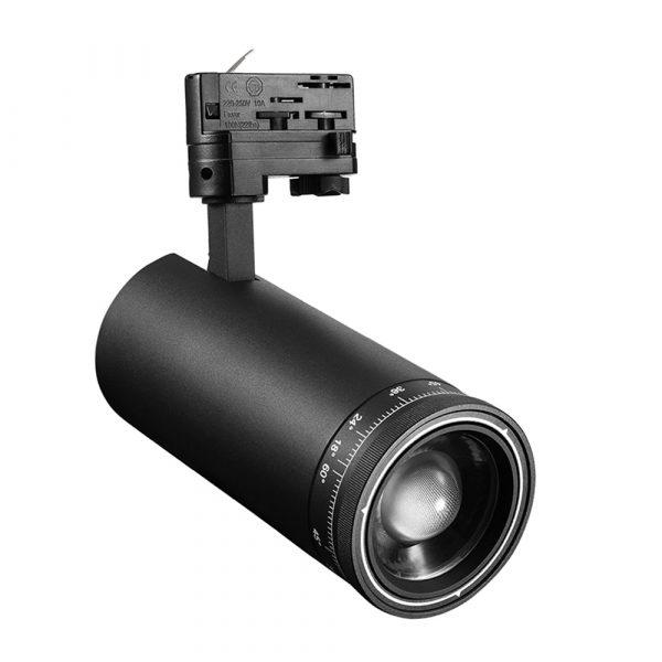 PS-TL35L92 zoom LED track light fixtures 3